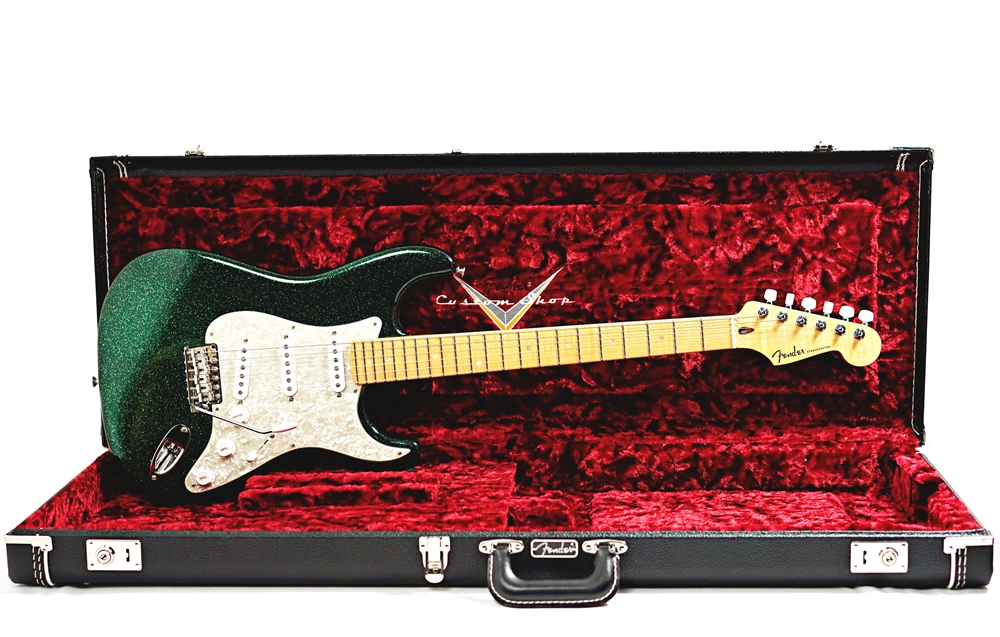 Fender Custom Shop Green Sparkle Stratocaster