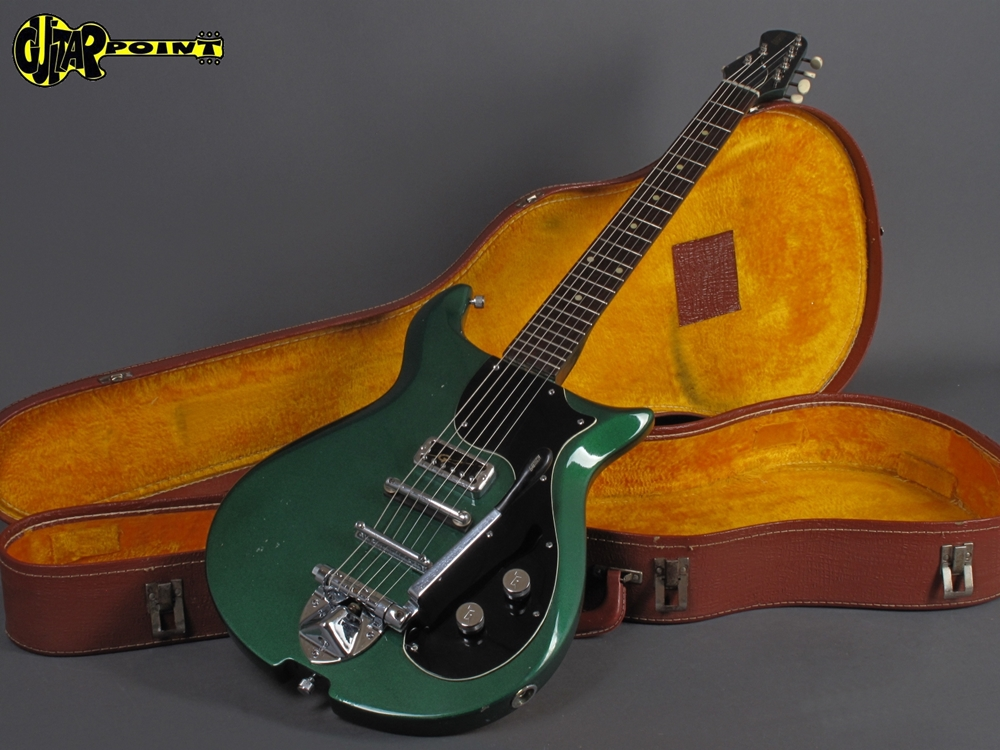 Gretsch 1966Corvette+Metalic+Green