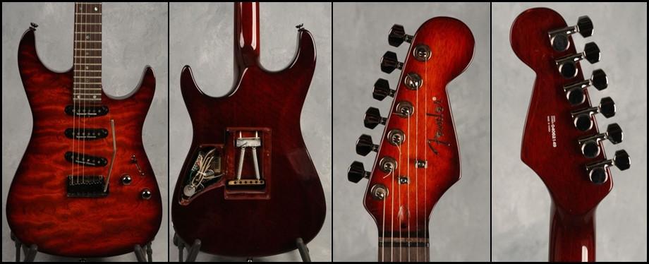 MIK Korean Fender neck-through guitar strat stratocaster