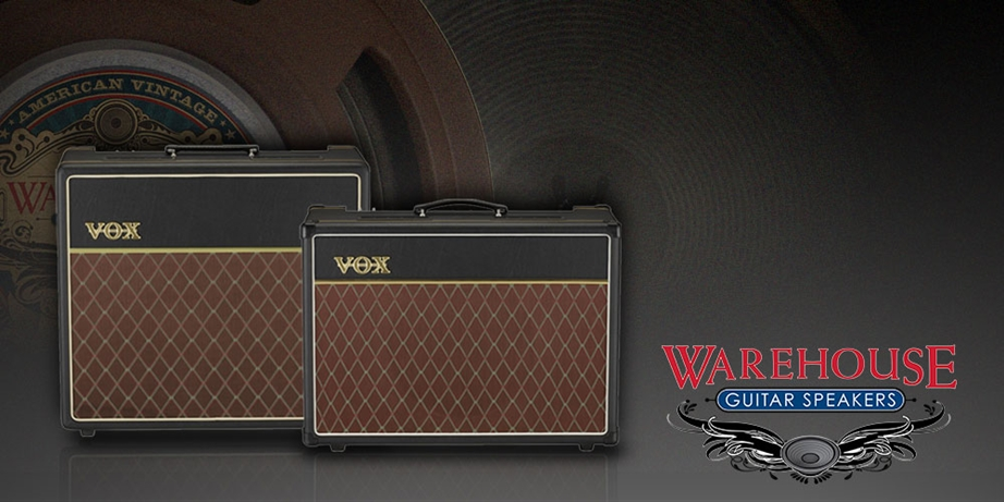 Vox Limited Edition AC15 AC30 Warehouse Guitar Speakers WGS
