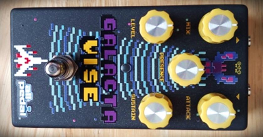 Galacta Vise the best guitar compressor pedal kit