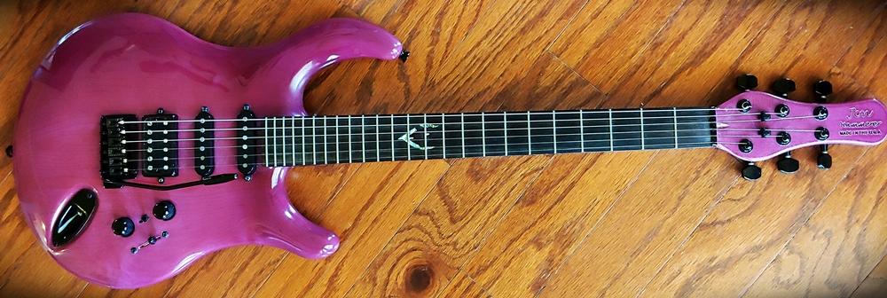 Jon Kammerer custom botique guitar