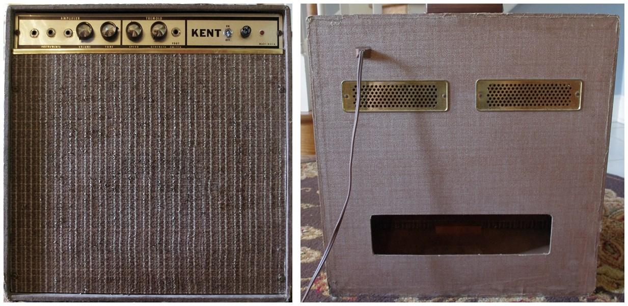 Vintage Kent DR45 Tube Guitar Amp