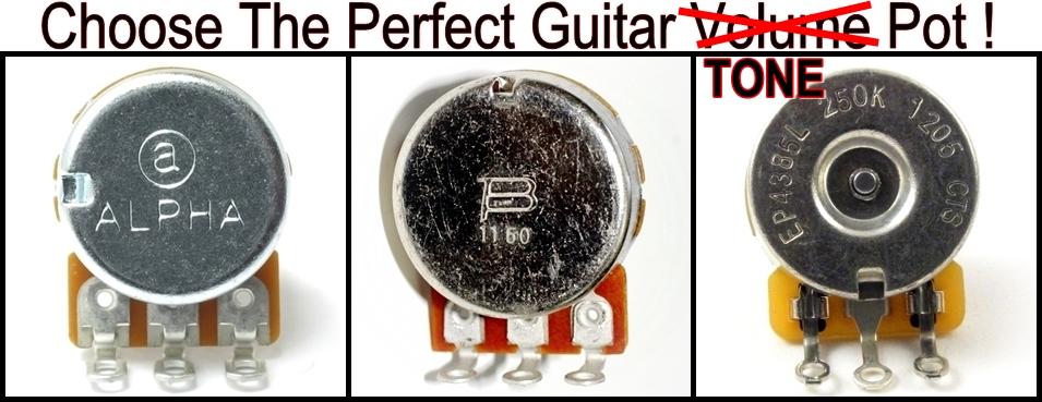 Choose The Perfect Guitar Tone Pot