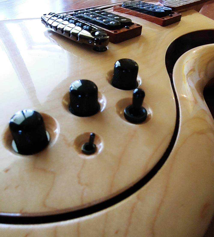 Jon Kamerer Pagesus custom guitar
