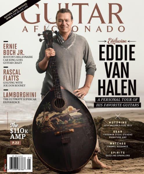Best+Eddie Van Halen Interview Guitar Aficionado