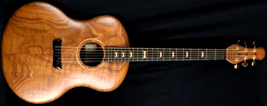 jon kammerer botique custom acoustic guitar