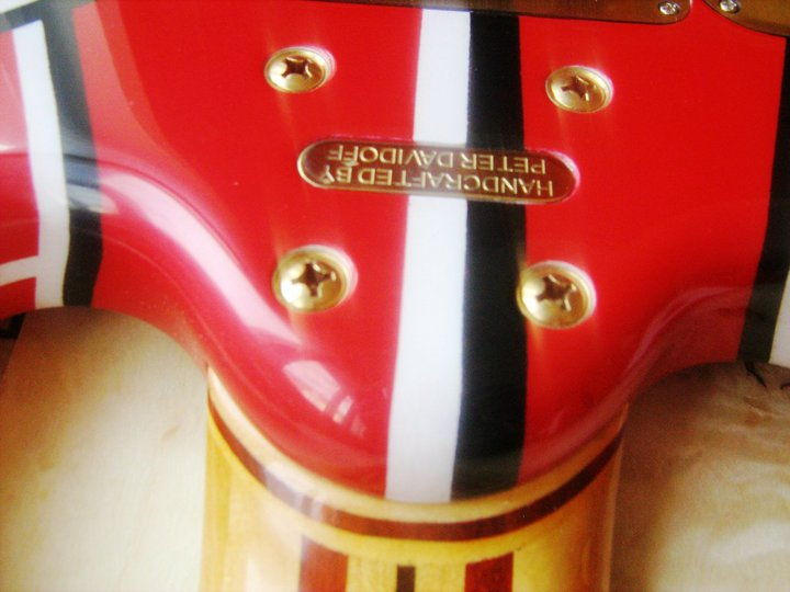 10-string Peter Davidoff Guitar