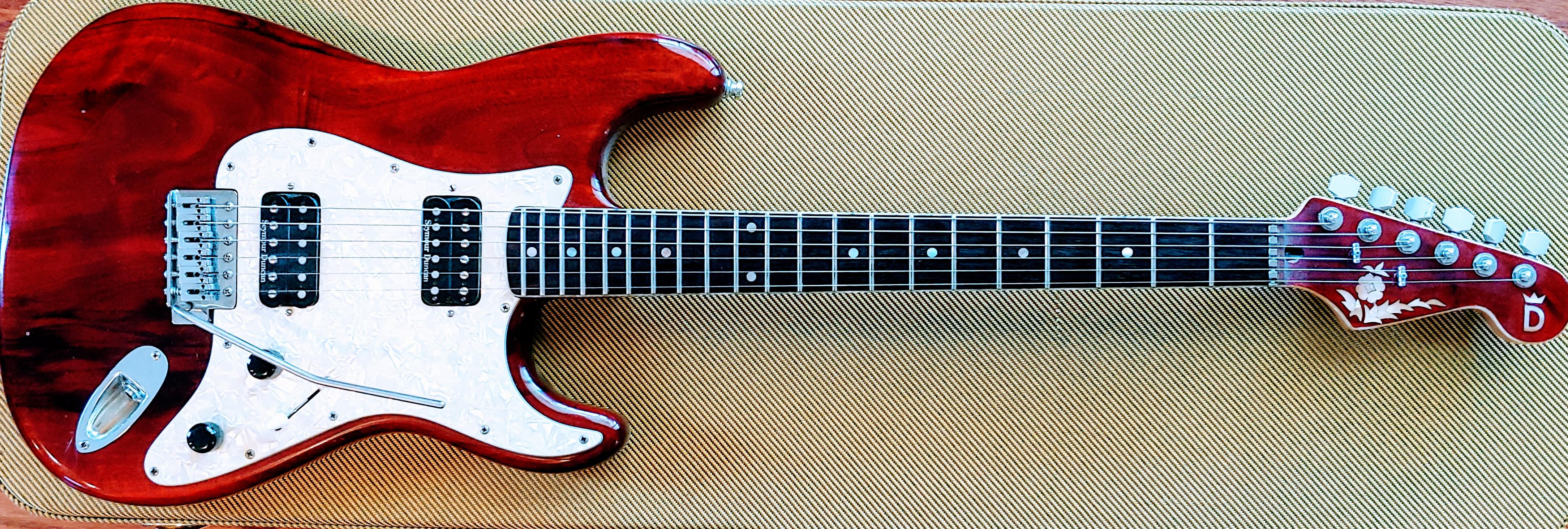 Peter Davidoff Custom Boutique guitar