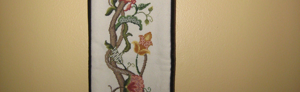 Embroidered Bell Pull