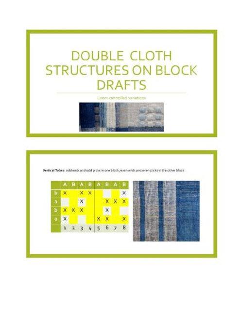 E4:  Doublecloth Design & Draft