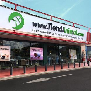 """Reforma de local para """"Tiendanimal"""""""