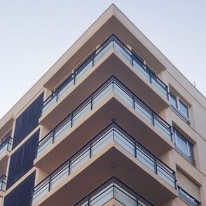 Rehabilitación de fachadas en edificio del centro de Málaga