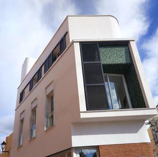 Bloque para dos viviendas en C/ Conde de Tendilla