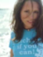 Beach Brunette