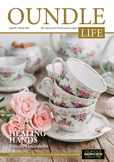 Oundle Life A5 Issue 5 March 2021 COVER.