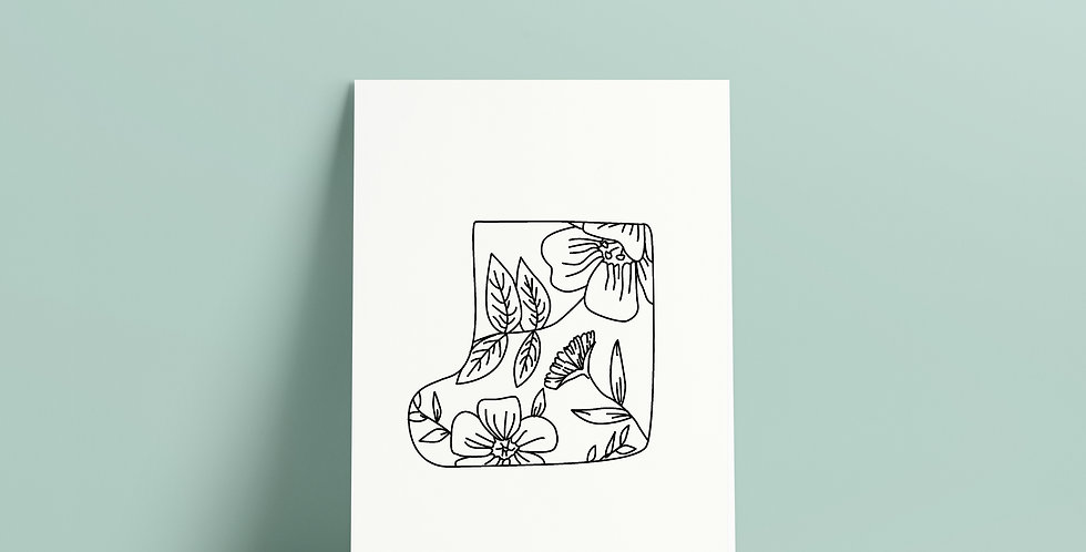 Postkort: Sigurd og Eli regnstøvel