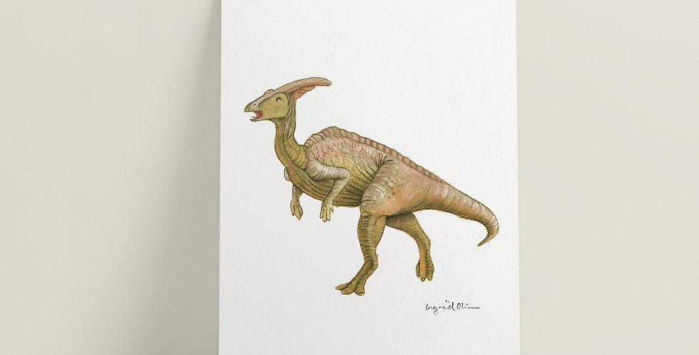 Kort: Parasaurolophus