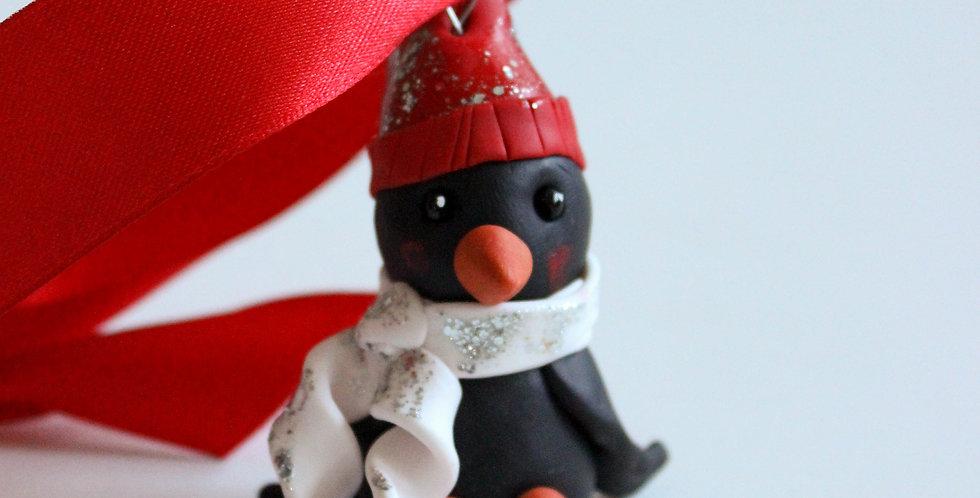 Julepynt pingvin 2
