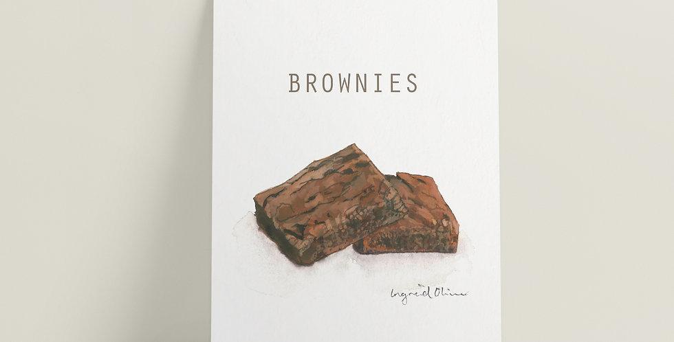 Kort: Brownies