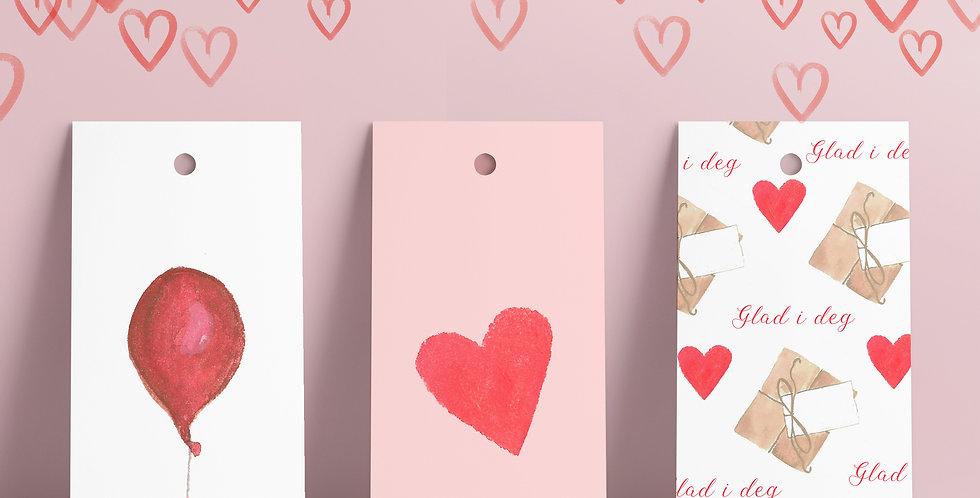 Gavelapper: Velg selv motiv fra Valentine