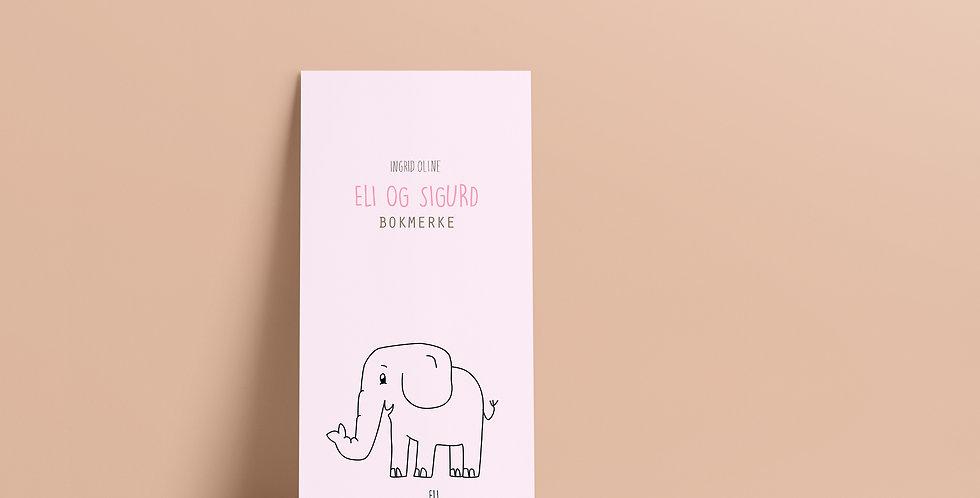 Bokmerke: Eli og Sigurd rosa