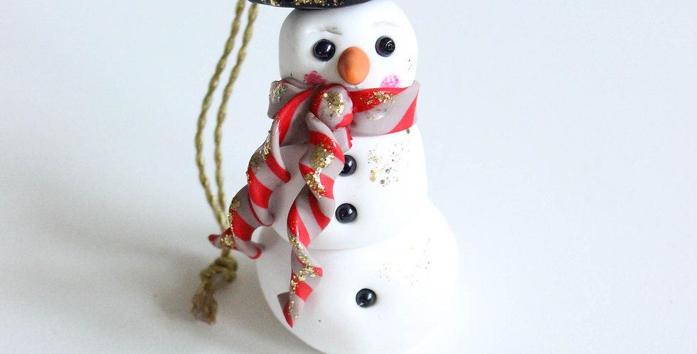 Julepynt snømann
