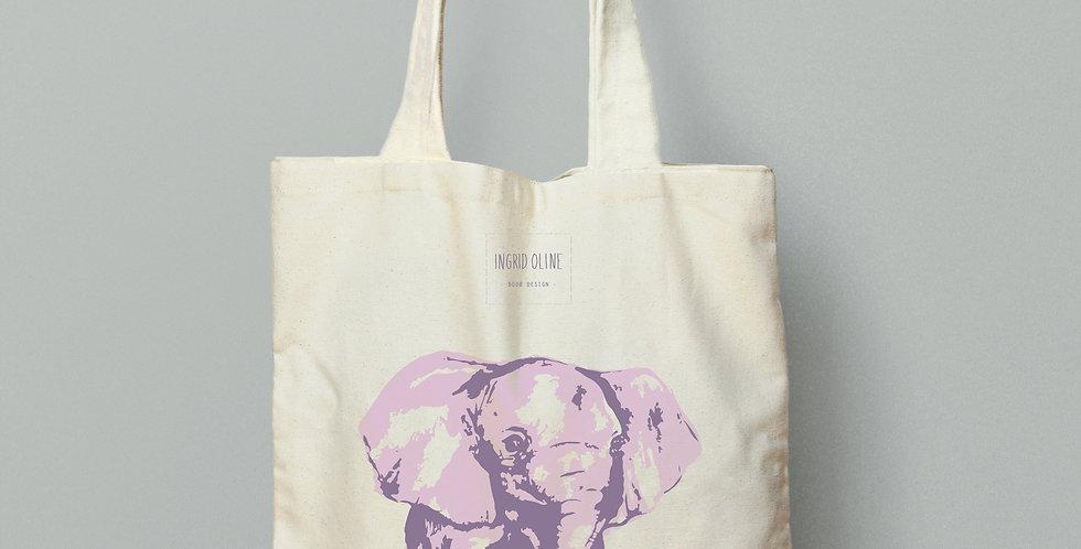 Handlenett elefant