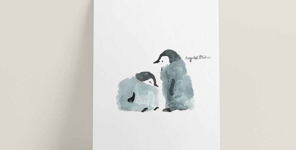 Kort: Pingviner