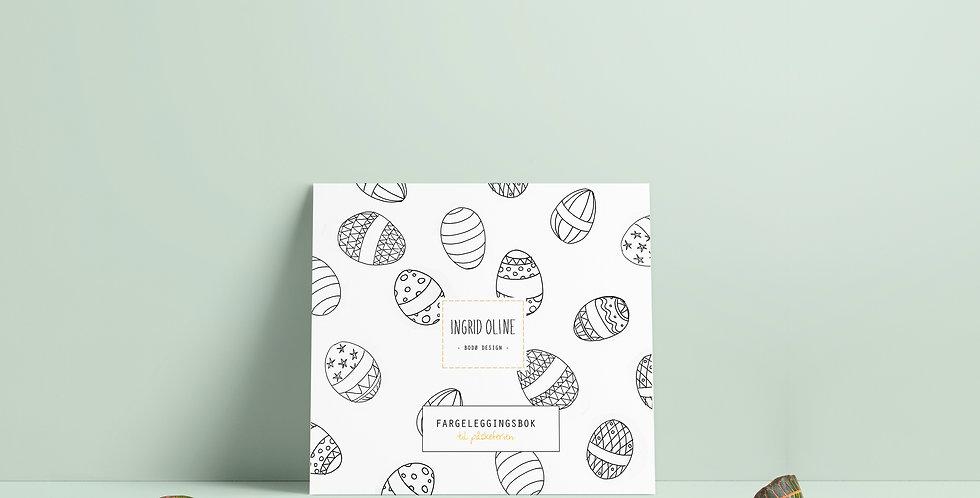 Fargeleggingsbok: Til påskeferien