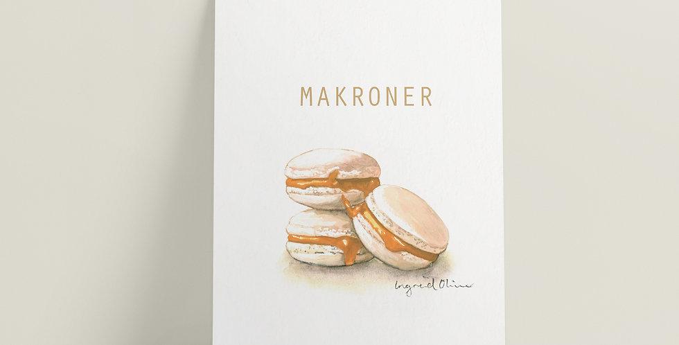 Kort: Makroner