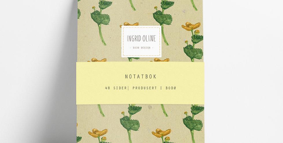 Notatbok: Smørblomst