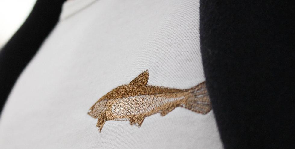 T-skjorte: Laks motiv