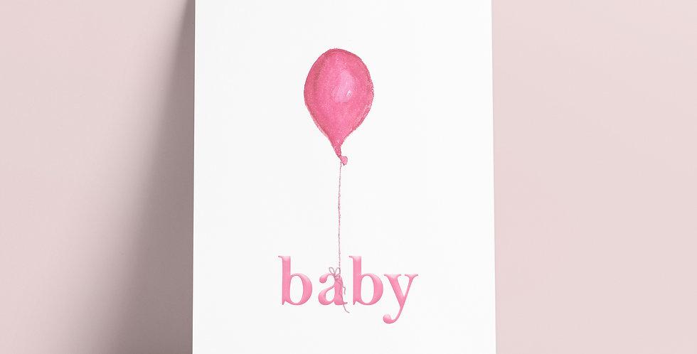 Kort: Baby Rosa