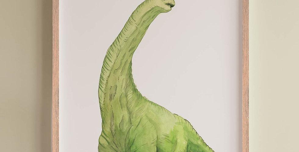 Plakat: Brontosaurus
