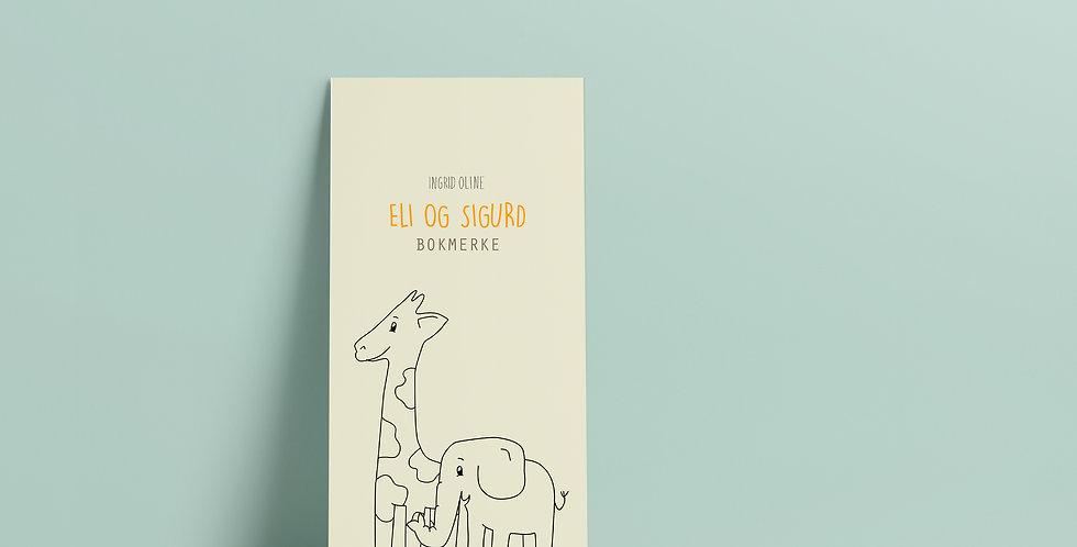Bokmerke: Eli og Sigurd gul