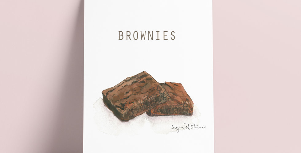 Kort: Brownies