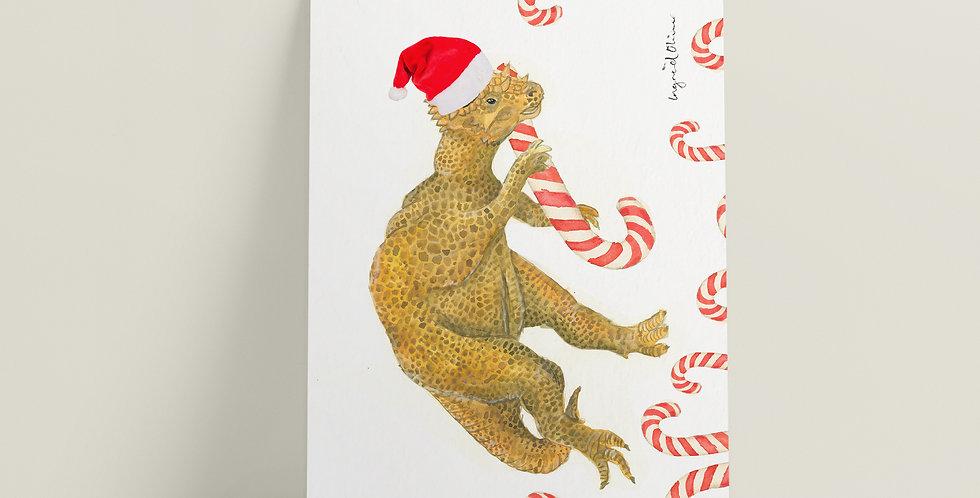 Store kort: Juledinosaur
