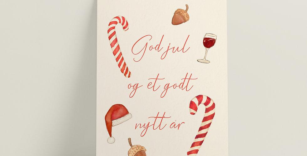 Kort: God jul og et godt nytt år