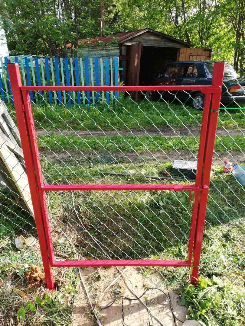 Забор из сетки рабица ПроСтрой