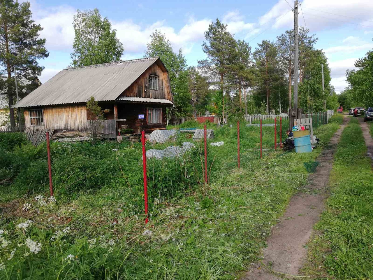 Забор из сетки-рабица ПроСтрой
