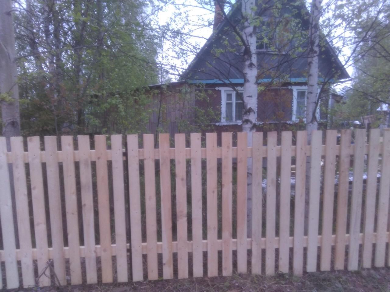 Забор из дерева ПроСтрой