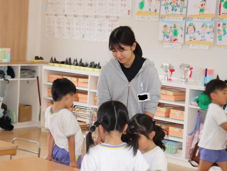 幼稚園での実習で・・・