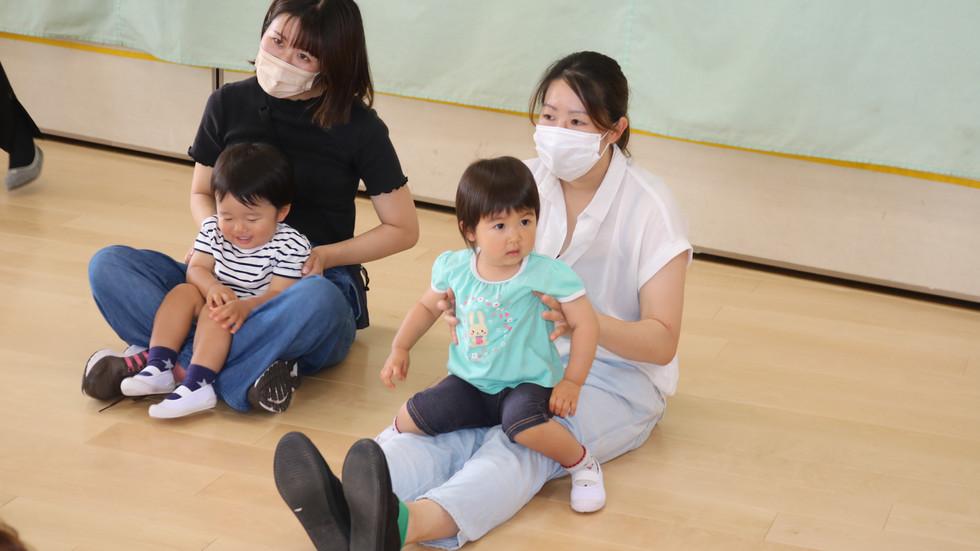 未就園児イベント 親子HAPPY体操