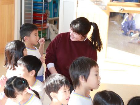 つくしの幼稚園での実習で