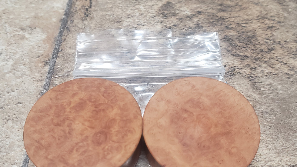 madrone burl plugs