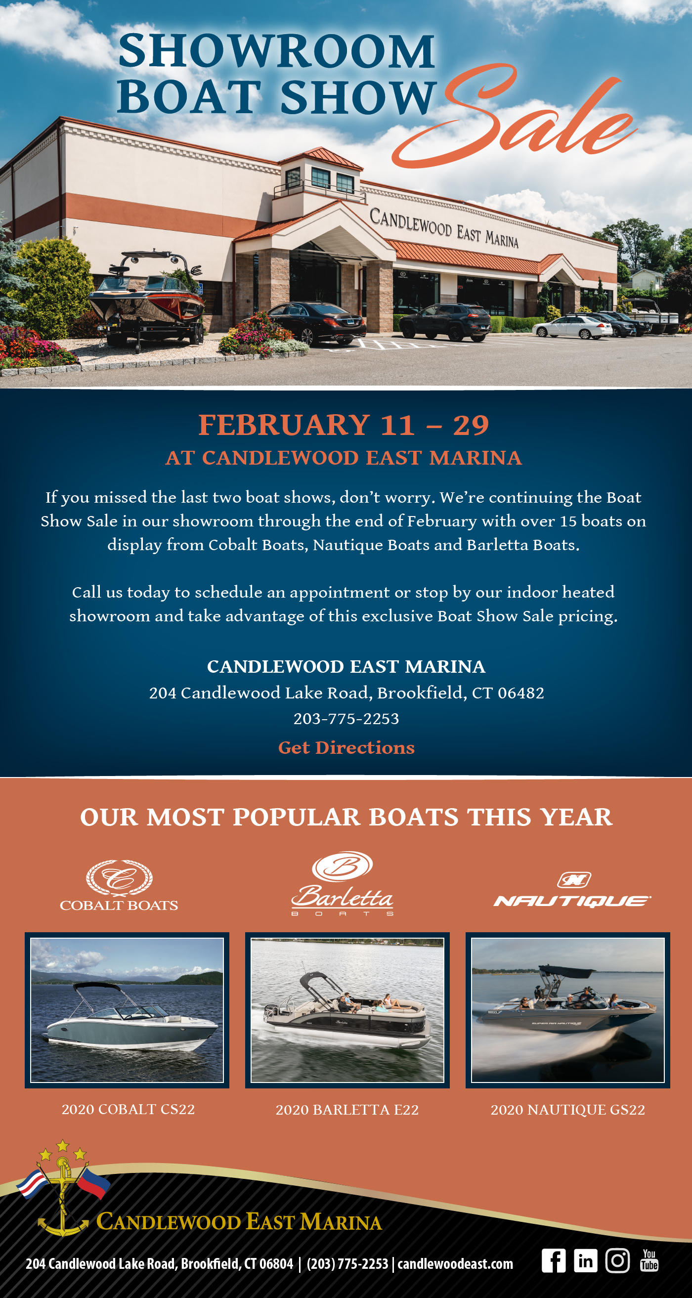Save the Date Boat Show Eblast