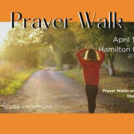 PRAYER WALK & FASTING DAY - April 15th 2021 (9am)