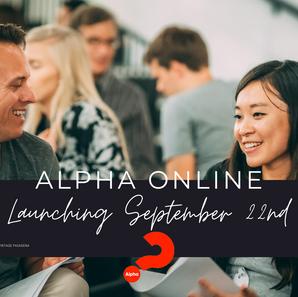 ALPHA ONLINE - September 22nd.