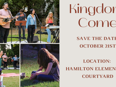 KINGDOM COME WORSHIP NIGHT October 21st 7pm